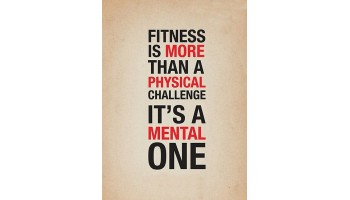 Health is Not a Physical Challenge, It is Mental