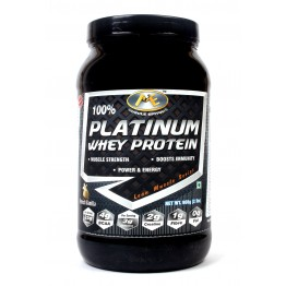 Muscle Epitome 100% Platinum Whey Protein (2 lbs)